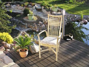 Armlehnen Stuhl Mod. Alessio