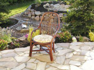 Armlehnen Stuhl Mod. Emilia