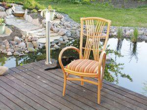 Armlehnen Stuhl Mod. Leana
